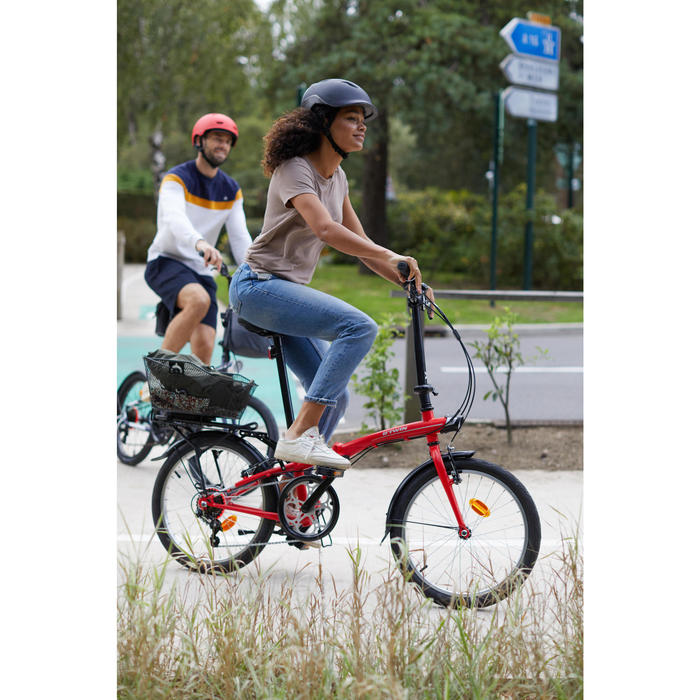 Fahrradkorb 500 B'Clip 13 Liter für Gepäckträger OneSecondClip hinten
