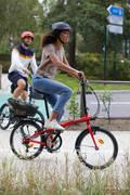 KOŠÍKY/BRAŠNY Cyklistika - ZADNÍ KOŠÍK NA NOSIČ 500  ELOPS - Příslušenství na kolo