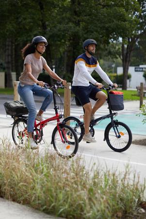 500 b'Clip Rear Bike Basket