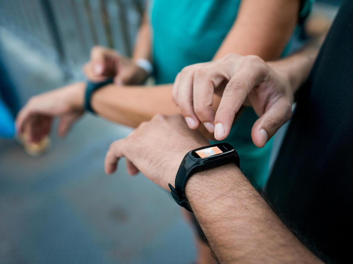 montre connectée marche athlétique