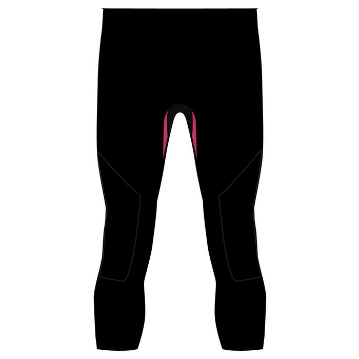 Kids' Ski Base Layer Bottoms 900 I-Soft - Pink