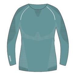 Skiondershirt voor dames 900 X-Breath blauw/grijs