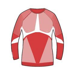 Thermoshirt voor skiën heren 900 rood