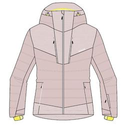 Skijacke 900 Warm Damen rosa