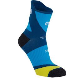 Dikke sokken Kiprun met strap blauw