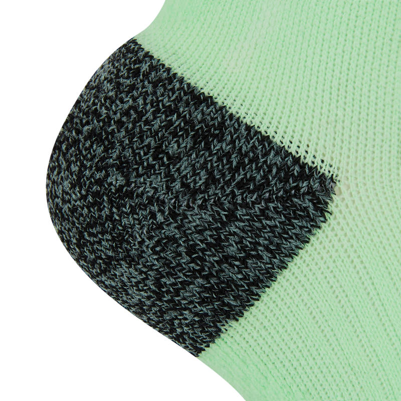 KIPRUN THIN INVISIBLE SOCKS GREEN