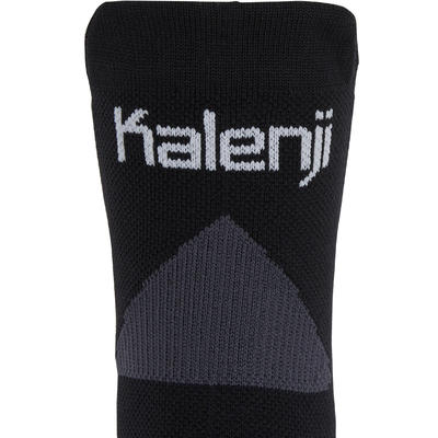 RUNNING SOCKS WITH THICK STRAPS - BLUE/BLACK