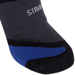 STRAP THICK RUNNING SOCKS - BLACK/BLUE