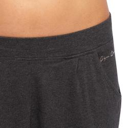 100 Women's Gentle Gym & Pilates Bottoms - Grey