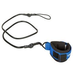 Leash Bodyboard Olaian 100 Negro Azul Muñeca
