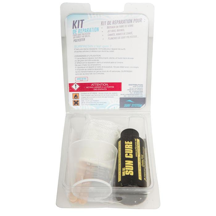 Kit de réparation pour planche de surf en résine polyester. - 161457