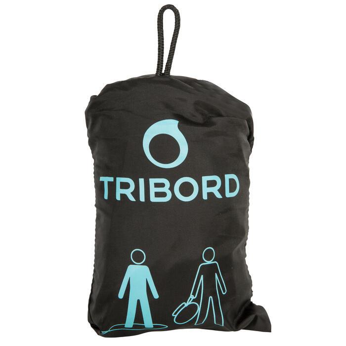 Zwarte tas voor neopreen surfpak