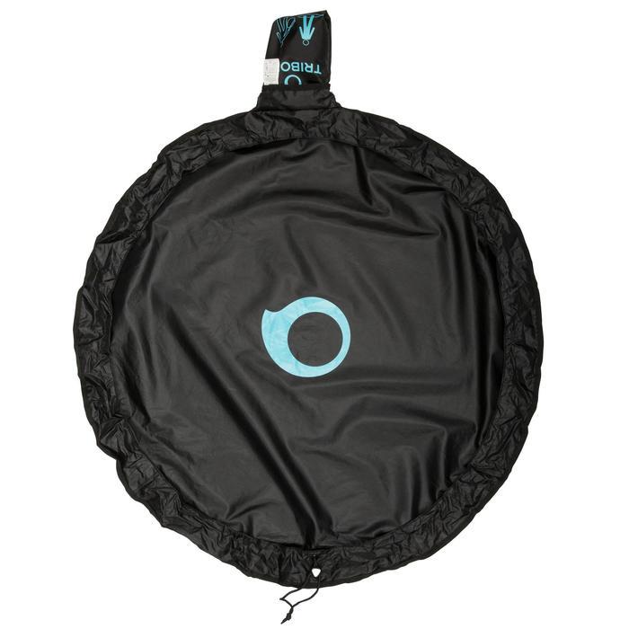 Wetsuit bag voor surfers neopreen zwart