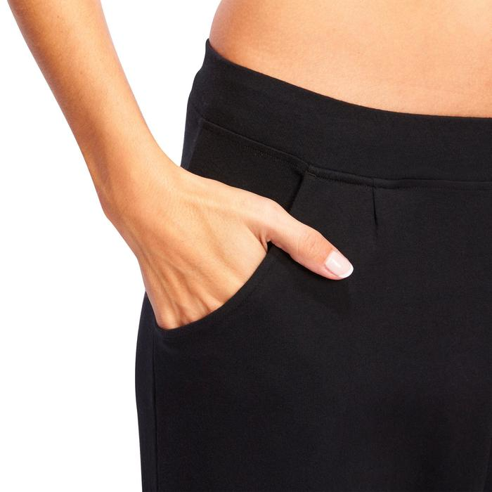 100 Women's Gym & Pilates Bottoms - Black