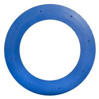 Frisbee anneau souple bleu