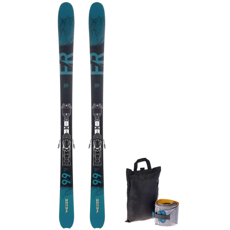 WOMAN'S FREERIDE SKIS Ski Equipment - Ski FR 900 170cm - Petrol WEDZE - Ski Equipment