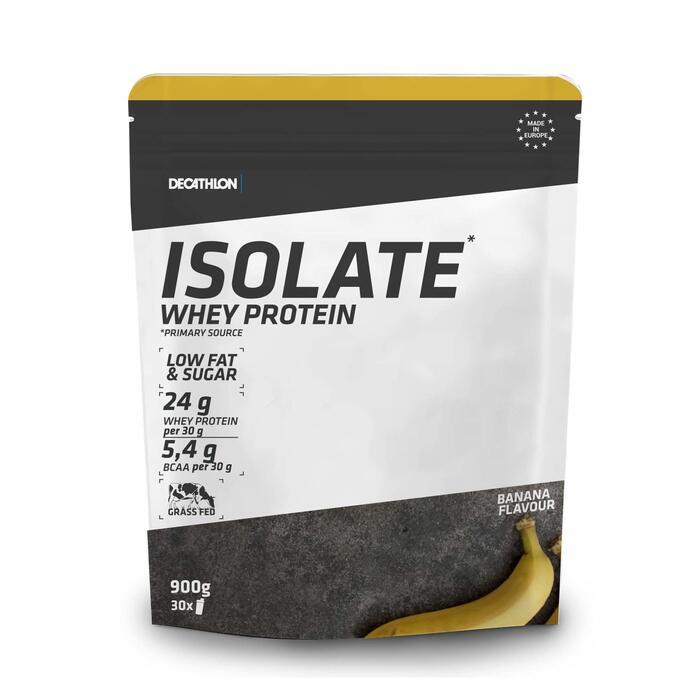 Eiwitshake Whey isolaat banaan 900 g