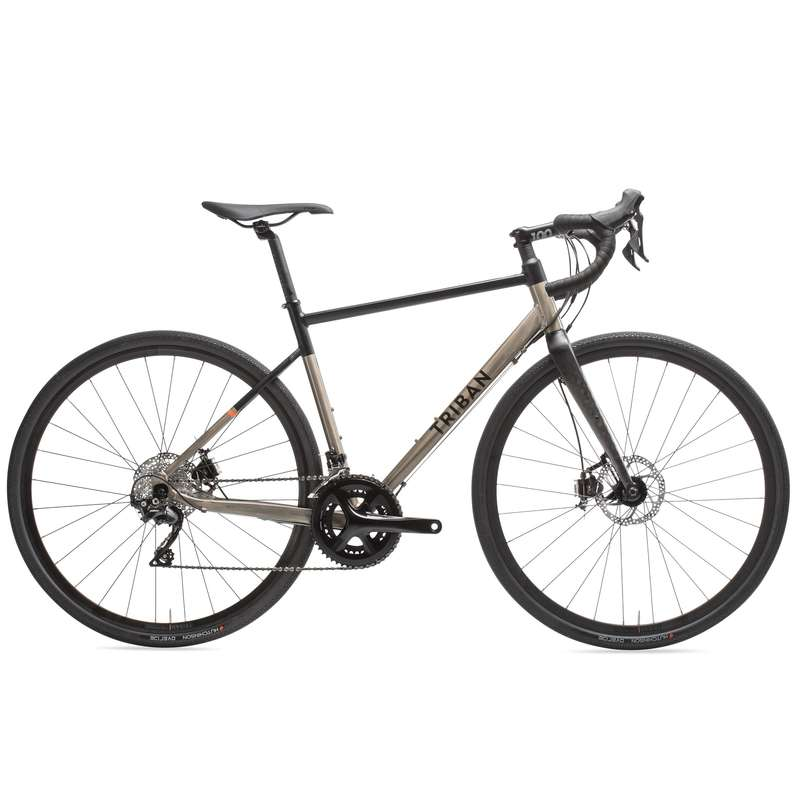 MEN ROAD CYCLING BIKES Cycling - Triban RC520 Gravel TRIBAN - Bikes