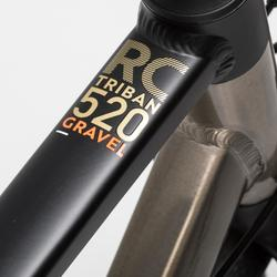 BICICLETA GRAVEL TRIBAN RC 520 GRAVEL