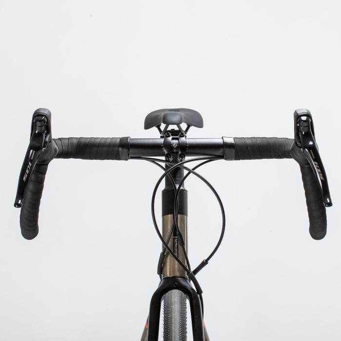 Racefiets / wielrenfiets voor veldrijden Triban RC520 shimano 105 en schijfrem