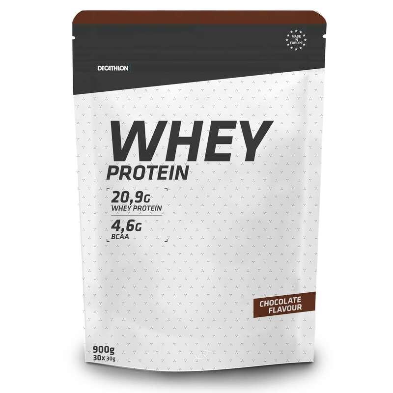 PROTEINE E COMPLEMENTI ALIMENTARI Proteine mantenimento muscolare - Proteine WHEY cioccolato 900g DOMYOS - Boutique alimentazione 2019