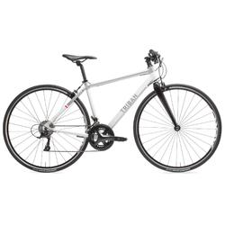 Vélo route femme Triban Regular cintre plat