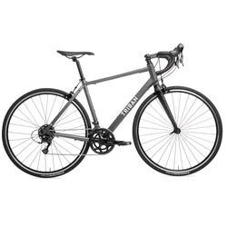 Herenracefiets voor recreatief fietsen RC120 grijs Abyss