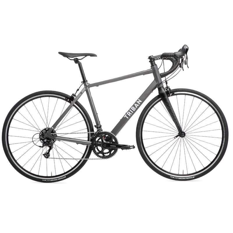 BICI CORSA CICLOTURISMO Ciclismo, Bici - Bici da corsa uomo RC120 TRIBAN - Ciclismo su strada