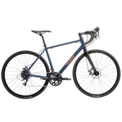 Bicicleta Carretera Triba RC120 Freno de Disco Azul Marino Naranja