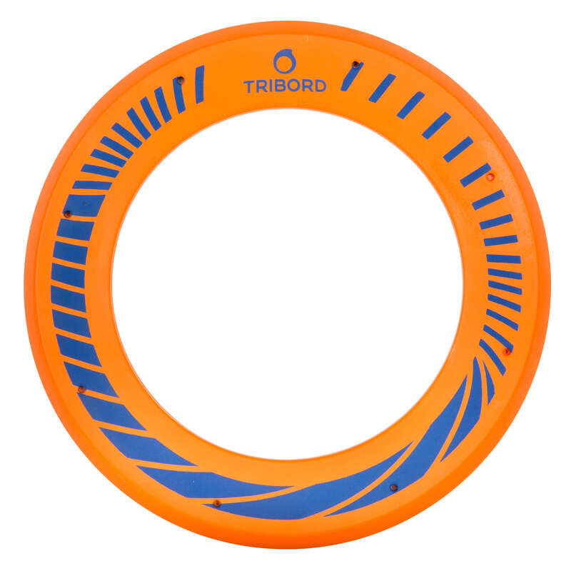 FLYING DISCS / BOOMERANG Frisbees and Boomerangs - Soft Flying Ring - Orange OLAIAN - Sports