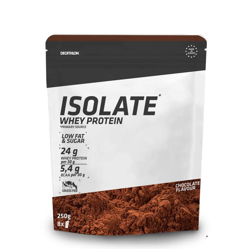 PROTEINS AND SUPPLEMENTS - Whey Protein Isolate Chocolate DOMYOS