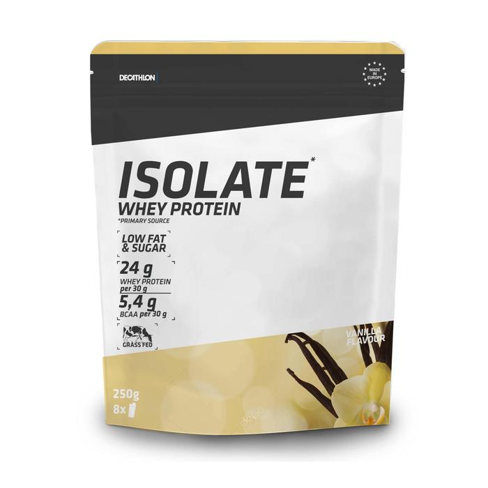 WHEY PROTEINE ISOLATE VANILLE 250 grs