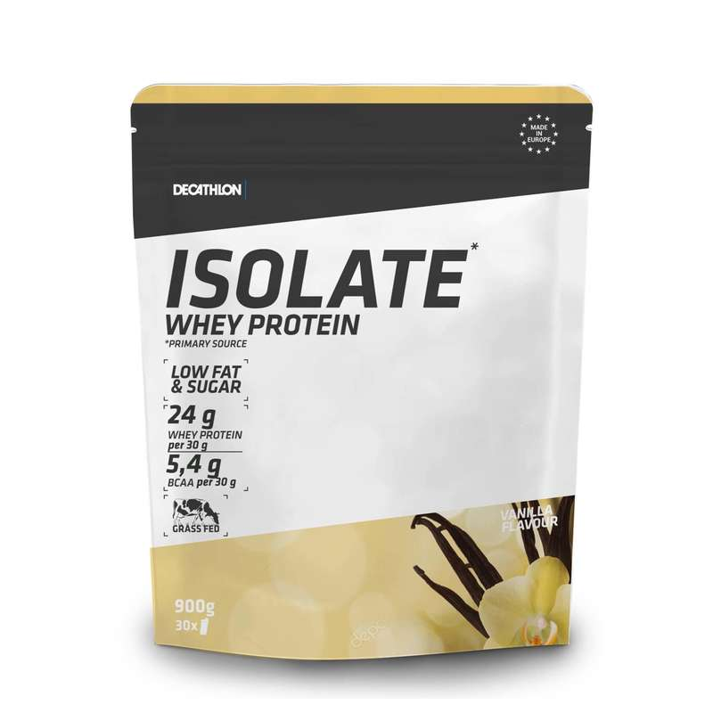 PROTEINS AND SUPPLEMENTS Boxing - Whey Protein Iso 900g Vanilla DOMYOS - Boxing Nutrition