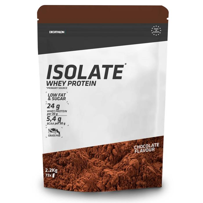 Whey isolaat chocolade 2,2 kg