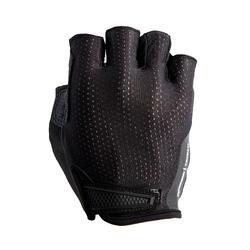 公路自行車用手套900-黑色
