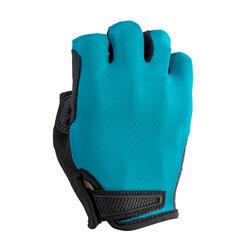 公路自行車手套RoadC 900-藍色