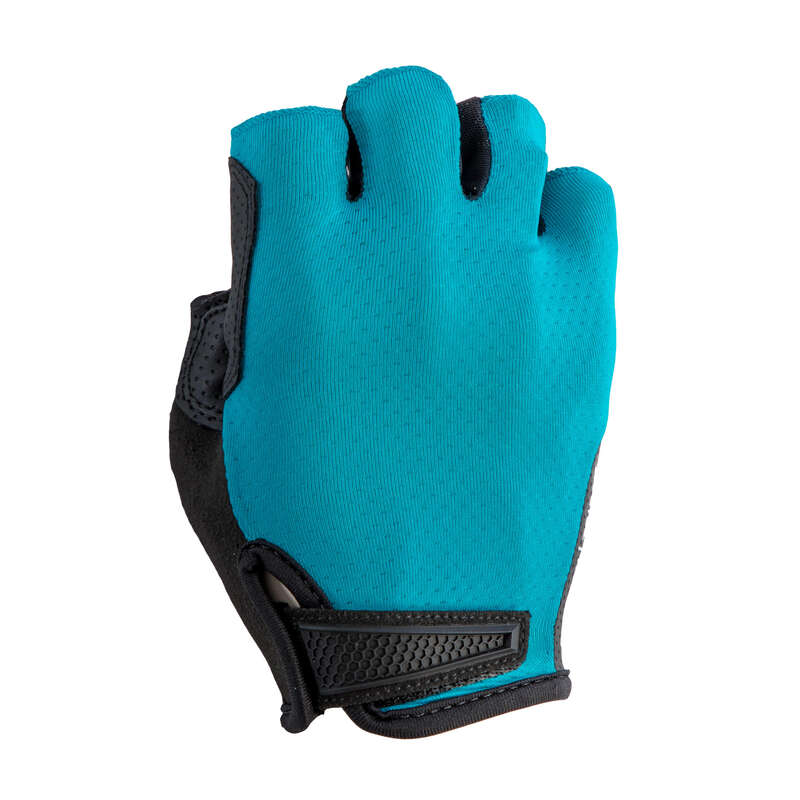 BIKE GLOVES WARM WEATHER Cycling - RR 900 Cycling Gloves - Blue TRIBAN - Clothing