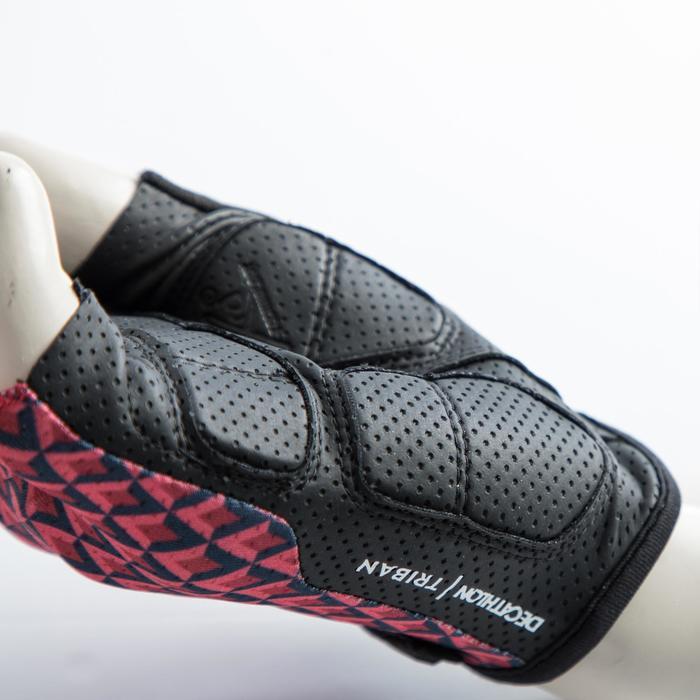 Fahrrad-Handschuhe Rennrad RC 900 rosa
