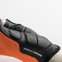 Fahrrad-Handschuhe Rennrad RC 900 neonorange