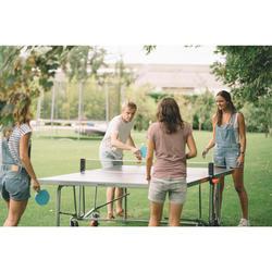 Tischtennisplatte PPT 530 Outdoor grau