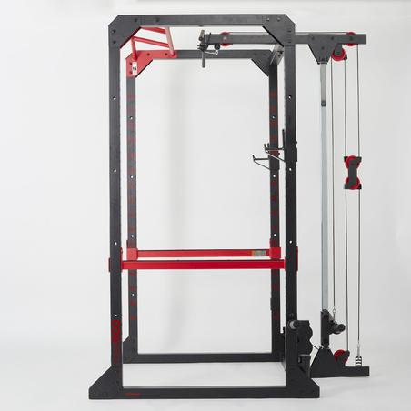 Rak Latihan Beban Chin-up / Squat / Bench Press / Back Work