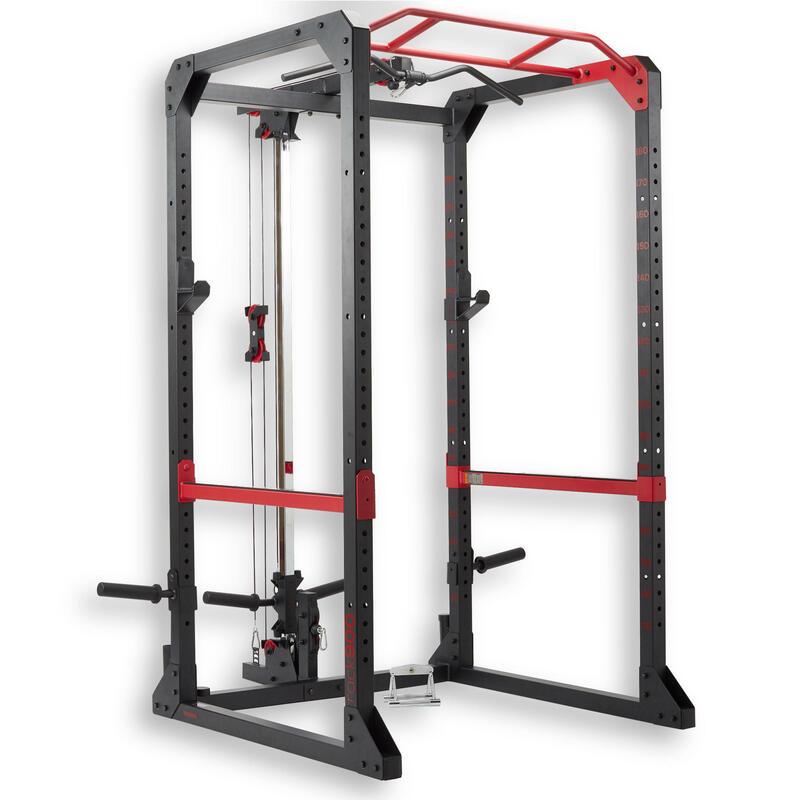 Rack Musculación y Cross Training Domyos 900 multifunción