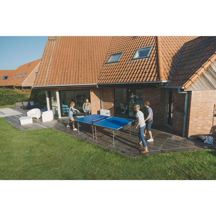 Tafeltennistafel / pingpongtafel outdoor PPT 130 blauw