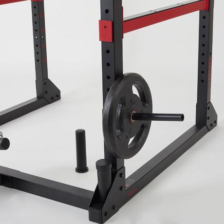 Rack De Musculation Traction Squat Développé Couché Tirage