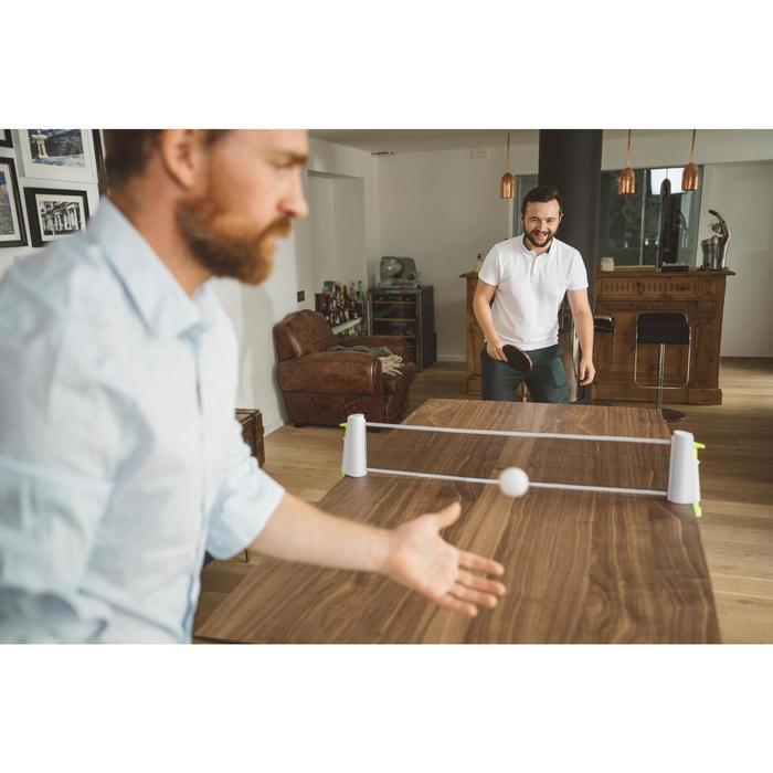Tafeltennisnet Rollnet standaard wit/geel