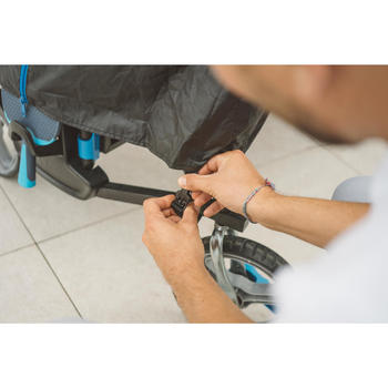 Tafeltennistafel / pingpongtafel outdoor PPT 930 grijs met gratis beschermhoes