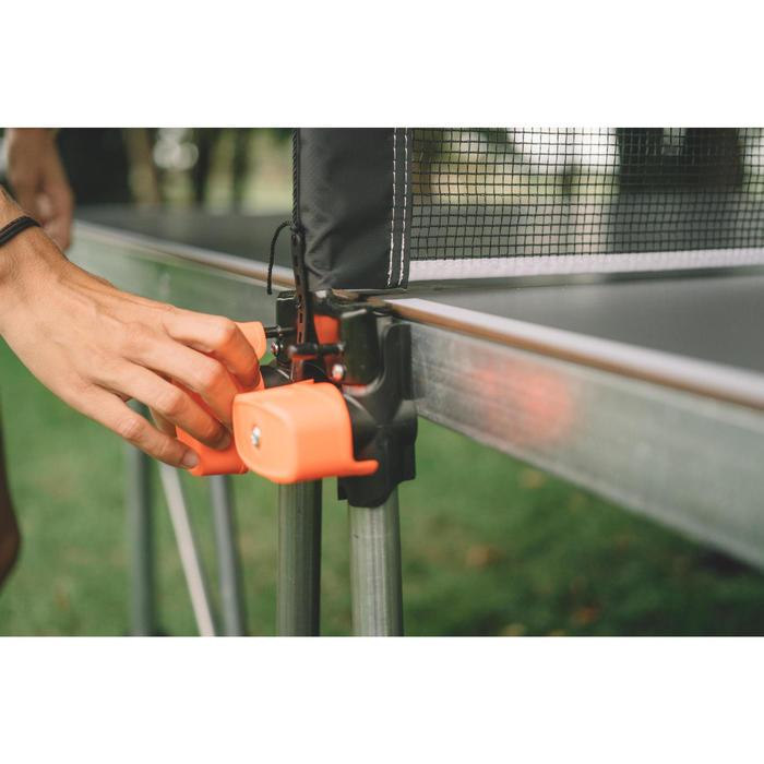 Tafeltennistafel / pingpongtafel outdoor PPT 530 grijs