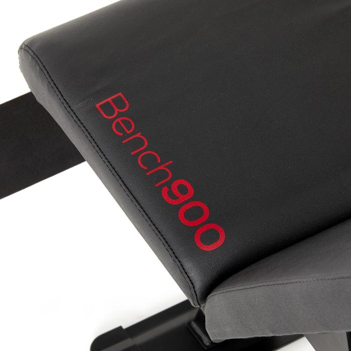 Banc de musculation renforcé inclinable / déclinable