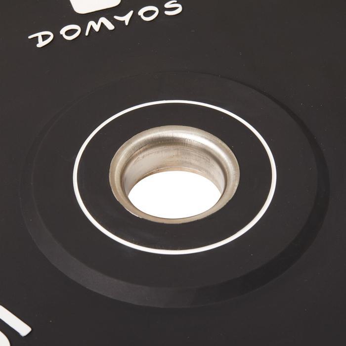 Disque bumper d'haltérophilie 5 kg, diamètre intérieur 50 mm