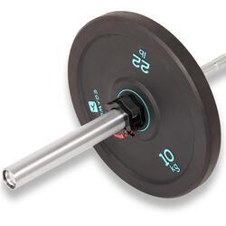 Halterschijf bumper 10 kg, binnendiameter 50 mm
